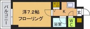 ピュア七隈弐番館図面